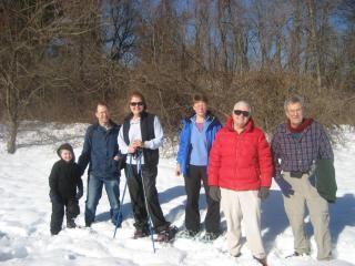 winter fun on the Souhegan River Trail